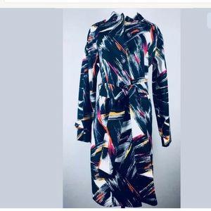Adrienne Vittadini Women's  Belted  Coat Size 10